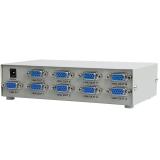 弗吉凯柏 (cabos) F036  电脑VGA高清视频分配器 显示器 分屏器1进8出分频器