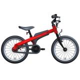 Ninebot九号儿童自行车儿童车男运动款 小孩宝宝男童单车16寸红色
