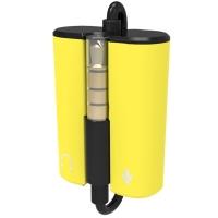 欧凡(OVANN)AP30  耳机麦克风音频转接头 二合一耳机分线器  适用于单孔笔记本和手机 黄色