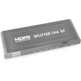 弗吉凯柏(cabos) hdmi分配器 HDMI1分4分配器 hdmi1进4出 hdmi分线器 1.4版3d高清分屏器 F027