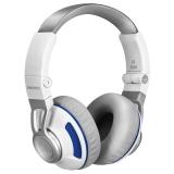 JBL S300 折叠便携头戴耳机 低音出色 坚固头梁 手机通话麦克 佩戴舒适 白蓝色 安卓版