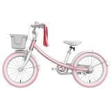 Ninebot九号儿童自行车儿童车女优雅款 小孩宝宝女童单车16寸粉色