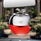 兰博(LAMBOR)汽车香水 汽车挂件车载香水 苹果 幸运香型 红色