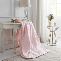 堂皇 被芯家纺 压花夏凉被 可水洗薄被子 时尚空调被 阿兰朵 粉色 1.5米床 200*230cm