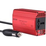 百事泰(BESTEK) 逆变器  MRI3012BU 红色 12V转220V 300W持续输出 车载电源转换器 USB车用充电器