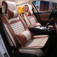 布雷什(BOLISH)超纤皮汽车坐垫 凉垫汽车座垫汽车坐垫夏季 五座四季通用 豪华款 卡宴黄