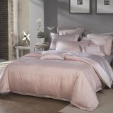 梦洁家纺出品 MAISON 床品套件 提花四件套 床单被罩 兰夏 杏 1.5米床 200*230cm