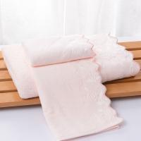 潔麗雅·蘭(grace·orchid)毛巾浴巾 健康親膚泡布玫瑰組合 (2毛巾+1浴巾)裝 粉色