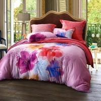 SAINTMARC罗莱生活出品 全棉床品套件床上用品床单被套 流光凡尔赛W-ST1768P-4 尚玛可220*240