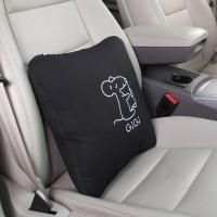 吉吉(GiGi)汽车用抱枕被 G-1070两用空调被 多功能折叠靠垫 夏凉被 黑色
