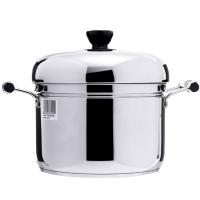 苏泊尔复底加厚24cm不锈钢汤蒸锅多用锅电磁炉通用单层SZ24S1