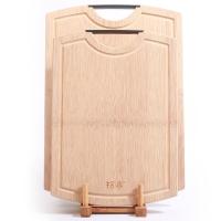 拾畫 整竹砧板套裝 圓弧設計 送砧板架 竹案板 切菜板2件套(40*28*1.8cm+34*24*1.8cm)SZ-6173
