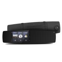 小蚁(YI)智能后视镜行车记录仪1080P高清视网膜控屏 GPS导航三镜头 倒车影像 电子狗语音声控