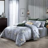 梦洁家纺出品 MAISON 床品套件 100支长绒棉印花四件套 床单款 维罗纳庄园 1.5米床 200*230cm