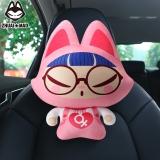 拽貓(ZhuaiMao) 汽車頭枕 頸枕 卡通護頸枕 辦公車用靠枕 眼鏡女
