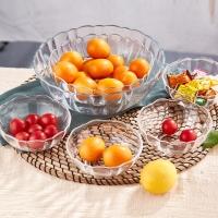 青苹果 钢化玻璃沙拉碗果盘果斗6件套 EW10/L6 DS