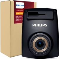 飛利浦(PHILIPS)行車記錄儀ADR800s 動態全高清1080P 夜視升級 廣角升級 F/2.0大光圈畫質更優