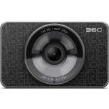 360行车记录仪二代 美猴王领航版 J511C 安霸A12 高清夜视 WIFI连接 停车监控 黑灰色