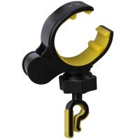 毕亚兹 车载手机支架 C6 汽车空调出风口支架 黑色+黄色 汽车手机支架 适用3.5-6.0英寸手机