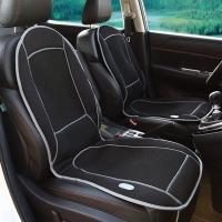 COMFIER 夏季汽车吹风通风降温坐垫 腰部按摩 多功能座垫 2401黑