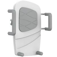 飞利浦 DLK35001 多功能手机支架夹式适用于车载/桌面/床头/汽车出风口/360度导航仪支架 白色