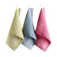 佳佰 厨房专用网面摩擦洗碗布抹布吸水刷锅不伤锅清洁布 三片装