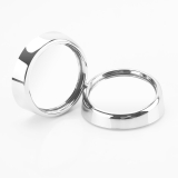 TYPER 小圆镜后视镜 TR-213银色对装 圆形5.4cm 360度可旋转广角小圆镜 汽车防盲区 通用型