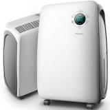 德尔玛(Deerma)抽湿机/除湿机 除湿量11升/天 适用面积6-20平方米 噪音50分贝 智能数控 家用/地下室 DEM-DT20C