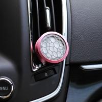 艾璐斯  汽车香水精油 空调出风口香水夹 车载车用空气清新剂 香颂香型F101
