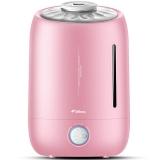 德尔玛(Deerma)加湿器 5L大容量 静音迷你办公室卧室家用香薰加湿 DEM-F500S(粉色)
