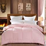 百丽丝 水星家纺出品 旭日暖阳柔绒春秋被 床上用品 双人被芯200*230cm