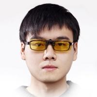 变形金刚 驾驶眼镜 防远光防炫目防强光夜视镜 第二代升级款夹片款 TFYJ06