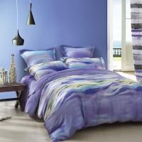 SAINTMARC罗莱生活出品 天丝床品套件床上用品床单被套 比亚里兹W-STS3105-4-1 尚玛可220*240