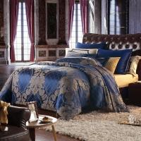 梦洁家纺出品 MAISON 床品套件 提花四件套 床单被罩 璨光之美 1.5米床 200*230cm