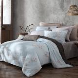 夢潔家紡出品 MAISON 床品套件 純棉印花四件套 床單款 木棉盧卡 1.8米床 248*248cm