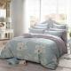 多喜爱(Dohia)床品套件 全棉印花简约风四件套 床单款 淡香伊人 双人 1.8米床 230*230cm