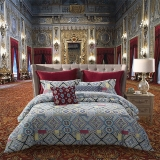 梦洁家纺出品 MAISON 床品套件 纯棉磨毛印花四件套 床单被罩 穹顶之光 1.8米床 248*248cm