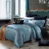 梦洁家纺(MENDALE)床品套件 提花四件套 欧式优雅床单被罩 简爱巴洛克 1.8米床 248*248cm