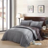 LUOLAI羅萊家紡 229紗支純棉四件套 全棉床上用品床品套件床單被罩 DY829摩登森林 220*250