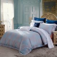梦洁家纺出品 MAISON 床品套件 提花四件套 床单被罩 印象日出 1.8米床 248*248cm