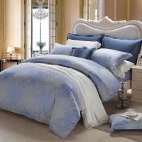 梦洁家纺(MENDALE)床品套件 色织提花四件套 欧式优雅床单被罩 温莎贵族 1.8米床 248*248cm