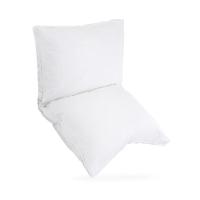 水星家纺 95%羽绒枕头枕芯全棉面料 双层立体鸭绒枕 单人护颈枕头芯 74*48cm