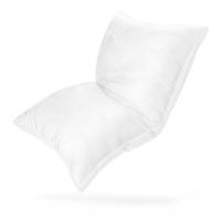 富安娜(FUANNA)家紡枕頭蠶絲枕芯 臻美絲棉枕(70cm*45cm)