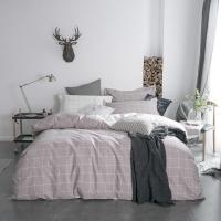 佳佰 被套被罩 單件 全棉斜紋 品格宣言適用1.8米雙人床(咖) (220*240)