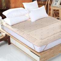 多喜爱(Dohia)床褥床垫 索尔四季羊毛垫 高档床护垫 榻榻米床垫 1.5米床 200*150cm