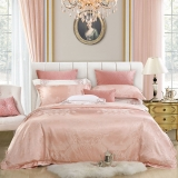 水星家纺 床上四件套 欧式大提花床品套件 被套床单被罩床上用品 英伦时光 加大双人1.8米床