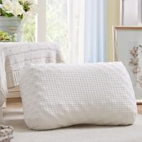安睡宝(somerelle) 乳胶枕头枕芯 针织立体蜂窝乳胶枕36*57cm