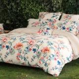 多喜爱(Dohia)床品套件 全棉加厚磨毛床上用品四件套 床单款 芳香醉人 双人 1.5米床 200*230cm