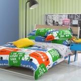 多喜爱(Dohia)床品套件 时尚床品纯棉单人四件套 床单款 音乐驿站 1.8米床 230*230cm