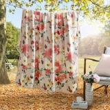 LOVO 罗莱生活出品 切尔西花园法兰绒毛毯 150*200cm